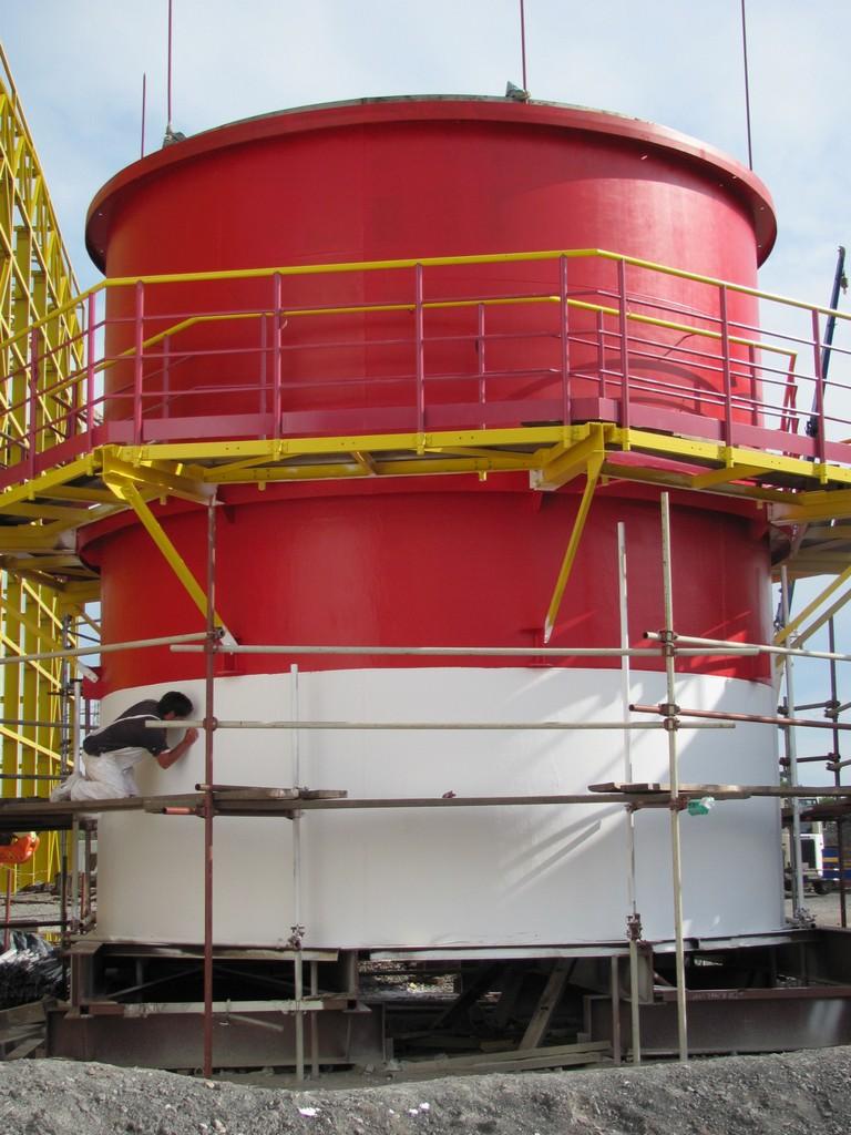 Dimovodne cijevi-termoelektrana Sisak